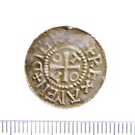 Otto-Adelheid-Pfennig, bald nach 983, Hatz II, 1.494g, Landesmuseum Münster, Inv.Nr.14559Mz. Foto: Stefan Kötz.