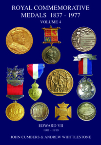 John Cumbers and Andrew Whittlestone, Royal Commemorative Medals 1837-1977. Vol. 4. Edward VII, 1901-1910. Edited by Paul and Bente R Withers. 2nd edition. Galata, Llanfyllin, 2017. Paperback, 205 pages, A4.Retail 45.00 pounds.