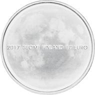 Finland / EUR 10 / Silver .500 / 10g / 28.5mm / Design: Kari Auvinen / Mintage: 10,000 (100 numbered).