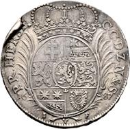 Hessen-Kassel, Landgrafschaft. Karl I. Reichstaler 1687 IVK, Kassel. Äußerst selten. Sehr schön/Vorzüglich.