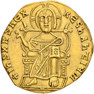 Los 245: Byzantinisches Reich, Alexander. Solidus 912/913. Konstantinopel. Äusserst selten. Fast vorzüglich. Taxe: 20'000 CHF.