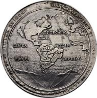 Los 2569: Kuba unter spanischer Herrschaft. Philipp IV. Silber-Schraubmedaille, Erbeutung der spanischen Flotte durch den niederländischen Vize-Admiral van Trappen. Fast vorzüglich. Taxe: 8'000 CHF.