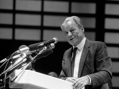 Willy Brandt. Foto: Karl-Heinz Münker-Appel / Wikimedia Commons / CC-BY-SA 2.0.
