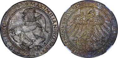 Medal Silver 1885 Austria.