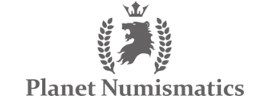 Planet Numismatics Logo.