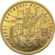 Los 316: Tschechoslowakei. 10 Dukaten 1935, Kremnitz. Fr. 4. Nur 600 Exemplare geprägt. 45,8 mm.