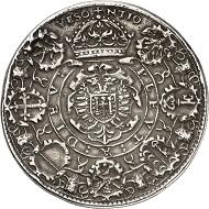 Lot 859. France. Besançon. Double schautaler 1564. Extremely rare. Very fine. Estimate: 4,000 euros