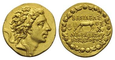 Lot 68: Mithridates VI. Eupator. Stater, 89/88 BC.