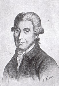 Carsten Niebuhr (1733-1815), drawing by Julius Fürst.