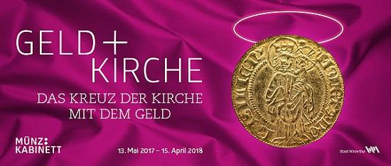 Geld+Kirche – Eine Ausstellung in Winterthur.