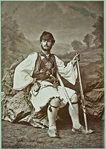 Mann aus Attika, 1889, anonym.