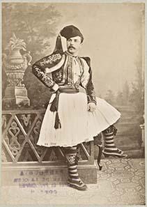 Mann aus Korfu, 1889, anonym.