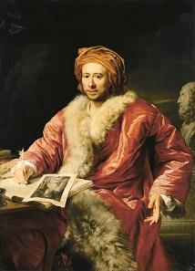Porträt Winckelmanns von Anton von Maron, 1768.
