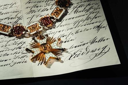 Goldene Kollane des Hausritterordens vom Heiligen Hubertus. Taxe: 45.000 Euro.