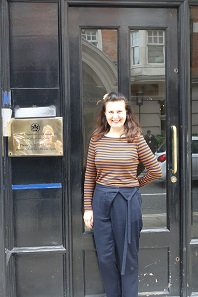 The London office of Classical Numismatic Group. Alexandra Spyra is in charge here. Photo: UK.