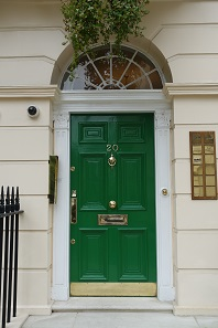 Located at elegant Fitzroy Square: the offices of young auction company Roma Numismatics. Photo: UK.
