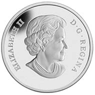 Canada - $20 - Prince William and Miss Catherine Middleton, Queen Elizabeth II (reverse) - 999 silver – 31.39 g - 38 mm - proof - Laurie McGaw (reverse), Susanna Blunt (obverse) - Mintage: 25,000.
