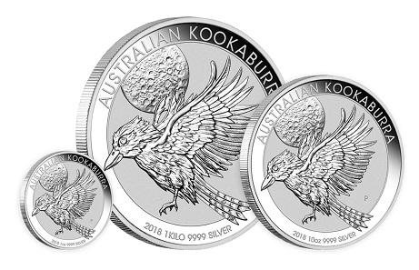 Australia / 1-30 AUD / Silver .9999 / 1oz-1kg / 40.6-100.6mm / Design: Neil Hollis / Mintage 1 oz version: 500,000.