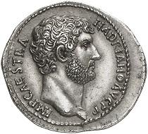 295 / Nr. 832: Hadrian, 117-138. Kistophor, 128-138, Nikomedia. Aus Auktion Leu 18 (1977), Nr. 330. Selten. Vorzügliches Prachtexemplar. Taxe: 50.000,- Euro. Zuschlag: 85.000,- Euro.