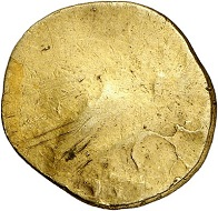 295 / Nr. 87: Populonia (Etrusker). AV-50 Asses, 300-250 v. Chr. Aus Auktion Hess-Leu 8 (1965), Nr. 3. Aus Sammlung Tetzlaff-Gahrmann. Selten. Vorzüglich. Taxe: 5.000,- Euro. Zuschlag: 8.000,- Euro.