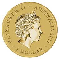 Australia - 1 AUD - Aluminium / Bronze - 13.8 g - 30.6 mm - Mintage: Unlimited - Designer: Aleysha Howarth.