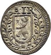 Lot 5033. Appenzell/Innerrhoden. Kreuzer 1742. Appenzell. Hammer price: SFr 10'000.
