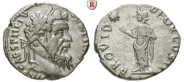 Römische Kaiserzeit. Pertinax, 193. Denar, Rom. Vorzüglich / Sehr schön – vorzüglich. Schätzung: 1150 Euro.