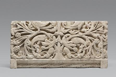 Rankenrelief, Köln, um 1200, Museum Schnütgen. © Rheinisches Bildarchiv, Köln/P. Schwarz.