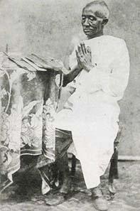 Photography of Mongkut as monk. Source: Wikipedia.