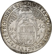 Lot 3319: Thorn, city. Taler 1650. Very rare. Extremely fine. Estimate: 1,000,- euros. Hammer price: 10,000,- euros.