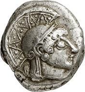 Lot 237: Athens (Attica). Tetradrachm, 500/490-485/480 BC. Almost extremely fine. Estimate: 6,000,- euros. Hammer price: 14,000,- euros.