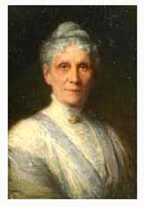 Anna Leonowens, Portrait by Robert Harris about 1900. Source: Wikipedia.