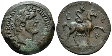 Lot 436: Egypt, Alexandria. Antoninus Pius, 138-161. Drachm, circa 159-160 (year 23). From the Dattari Collection. Very rare and interesting, attractive brown tone, Good Very Fine. Starting bid: 300 GBP.