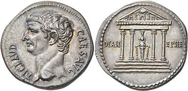 Lot 173: Claudius, 41-54. Cistophorus, 41-42 (?), Ephesus. From the Yves Gunzenreiner Collection. Virtually as struck. Estimate: 20,000 CHF. Hammer price: 40,000 CHF.