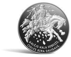 Latvia / 5 Euros / Silver .925 / 31.47g / 38.61mm / Design: Edgars Folks (graphic design) and Ligita Franckevica (plaster model) / Mintage: 4,000.