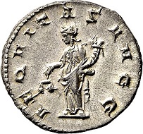 Lot 5656: Roman Imperial times. Volusianus, 251-253. Antoninianus, Rome. Extremely fine. Estimate: 50 euros. Hammer price: 460 euros.