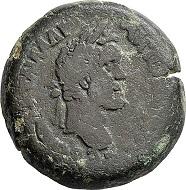 Lot 6636: Roman Imperial times. Antoninus Pius, 138-161. Bronze drachm, year 6 (= 142/143)?. Fine. Estimate: 150 euros. Hammer price: 700 euros.