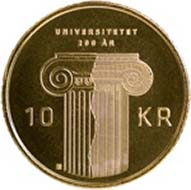 Norway - 10kr - 81% Cu, 10% Zn, 9% Ni - 6.8 g - 24 mm - Design: Enzo Finger (reverse), Ingrid Austlid Rise (obverse).