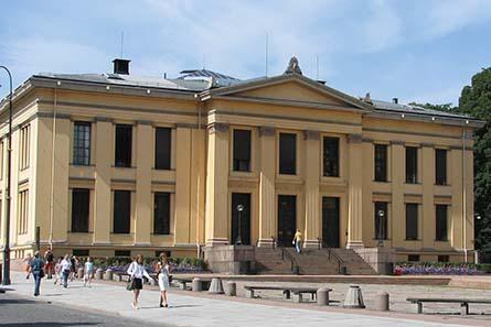 University building, Oslo,
