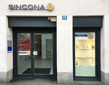 Die Ausstellungen finden in Zürichs Zentrum am Limmatquai statt in den Auktionsräumen von Sincona.