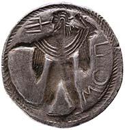 Poseidonia (Lukanien). Stater, ca. 525-500. KHM / Wien.