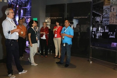 Tour at the Museum Bank Indonesia.