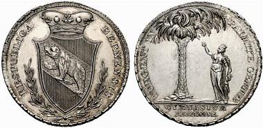 Palmbärenpfennige: ab 1624 bis 1680. An erfolgreiche Schüler der Lateinschule zu verteilen.