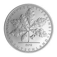 Silber Quadriga 2018 / Silber .999 / 1 Unze / 37 mm.