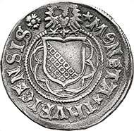 Fig. 5: ZURICH. Dicken without date (1500-1503). Tobler (1974), S. 77 (this specimen). HMZ 1124. Sale 88 Leu Numismatics (2003), lot 1787. Estimate: 20.000 CHF. Hammer price: 31.000 CHF.