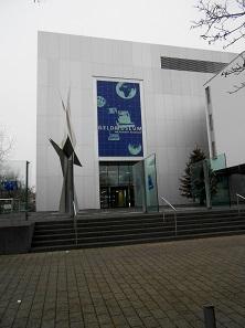 Das Gebäude des Geldmuseums der Deutschen Bundesbank.