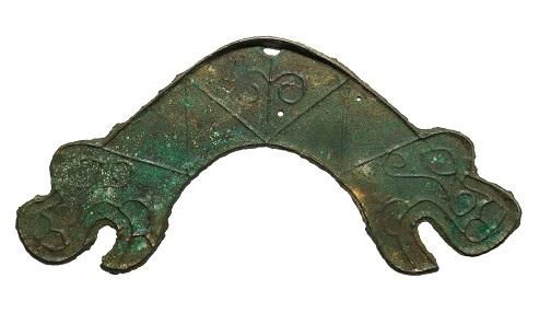 Dragon head bridge money, China, 5th-3rd century BCE.