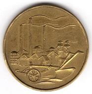 DDR. 50 Pfennig 1950. Foto: Angela Graff.