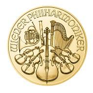 Der Wiener Philharmoniker der Münze Österreich aus 9999er Gold.