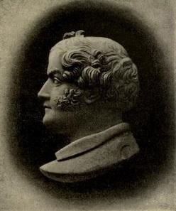 Cameo of Benedetto Pistrucci by his daughter Maria Elisa Pistrucci, ca. 1850.